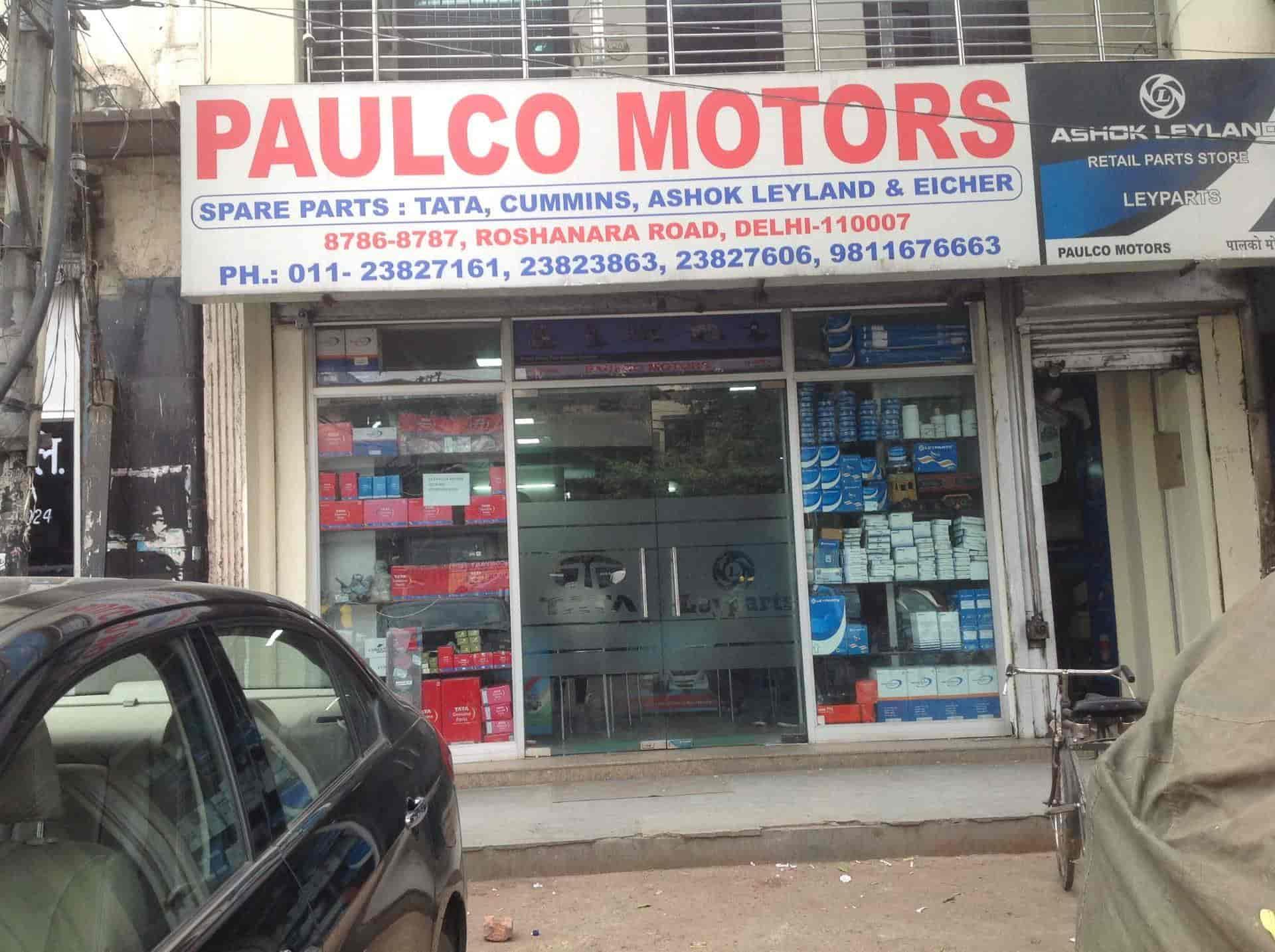 Paulco Motors, Roshanara Road - Truck Part Dealers in Delhi