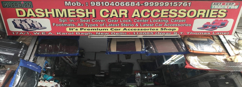 Dashmesh Car Accessories, Karol Bagh - Car Accessory Dealers in ...