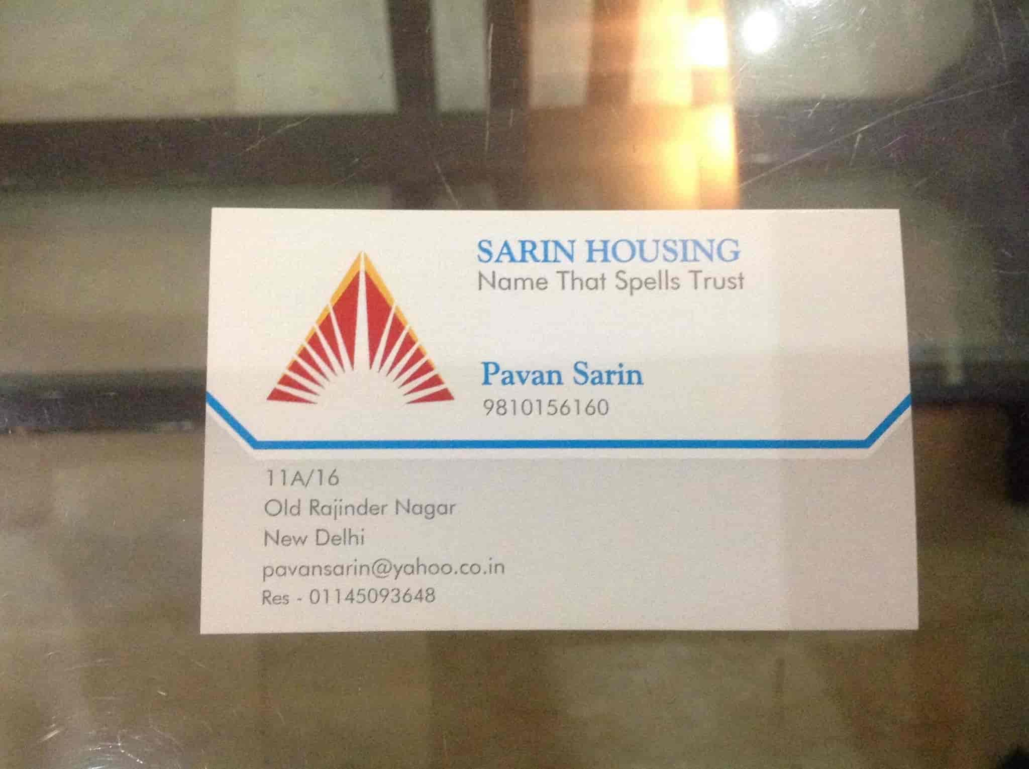 Sarin Housing, Old Rajender Nagar - Builders in Delhi - Justdial