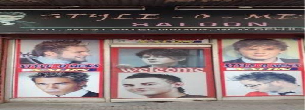 Style O Menz Salon West Patel Nagar Hair Stylists In Delhi Justdial