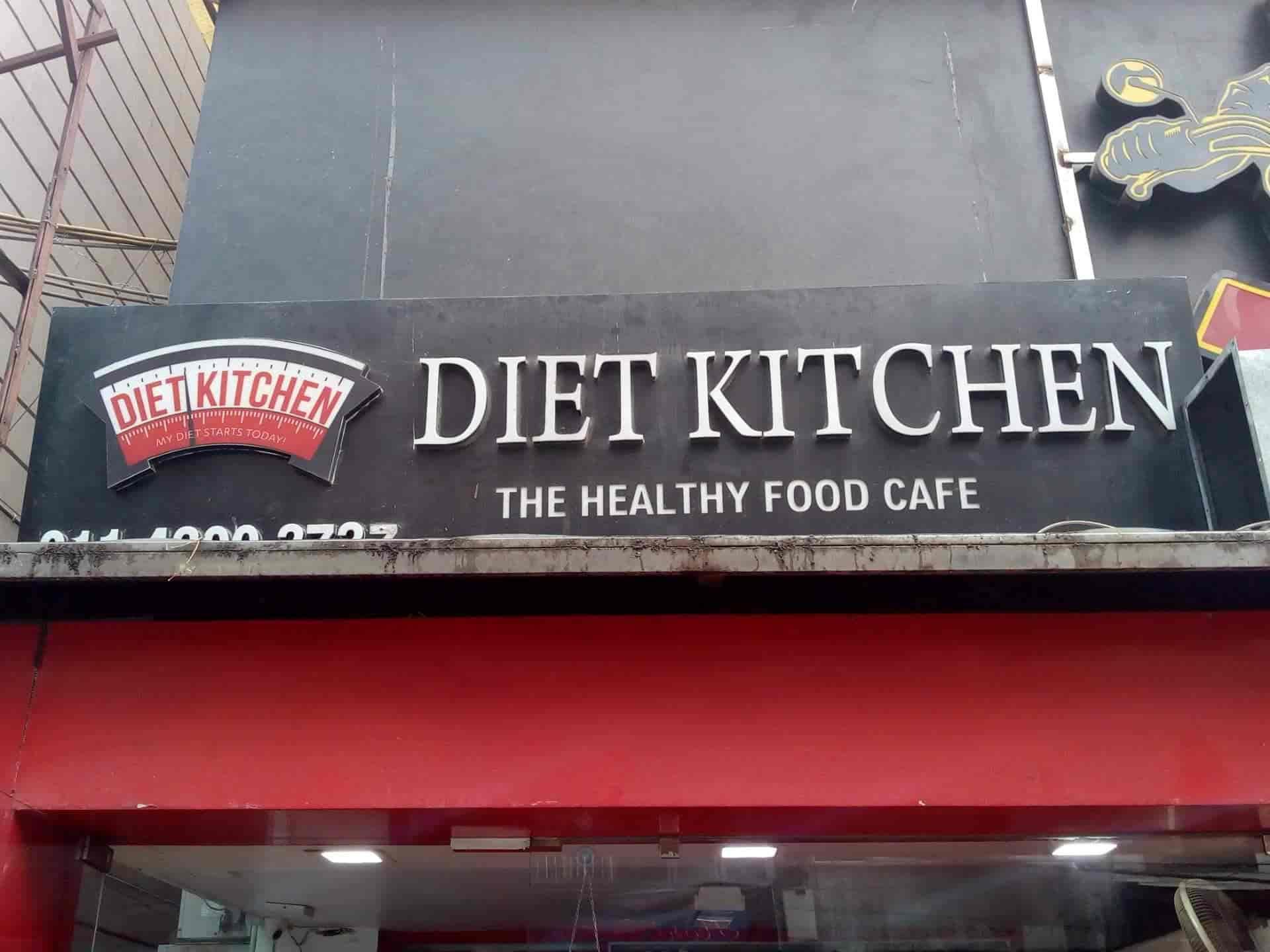 The Diet Kitchen, East Patel Nagar, Delhi - Continental