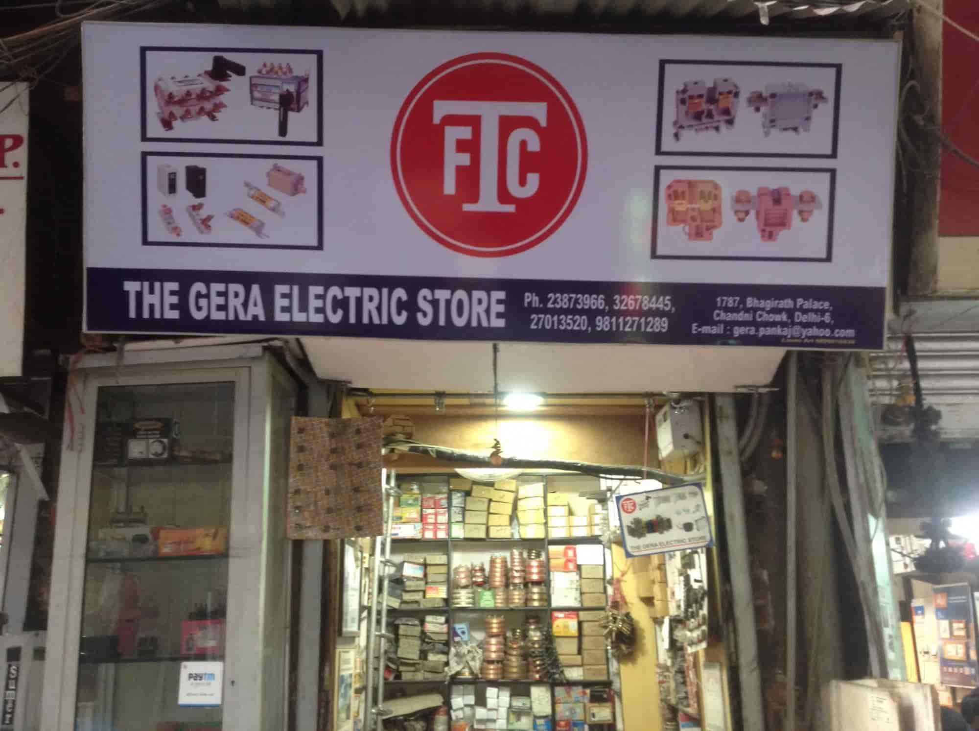 The Gera Electric Store, Bhagirath Palace - Electric Motor