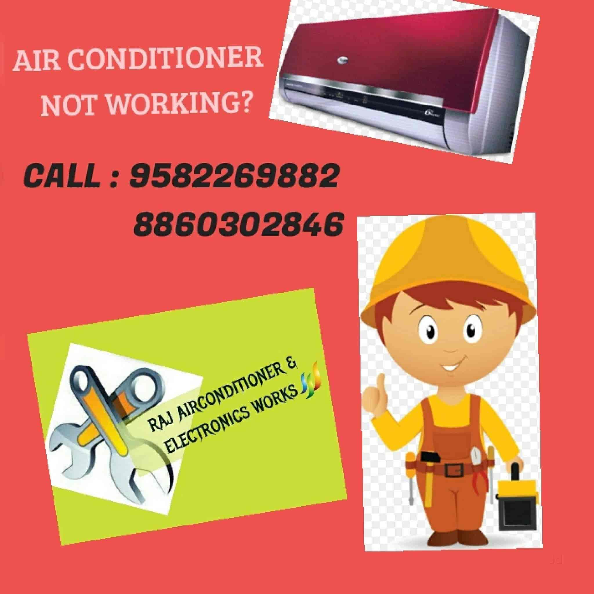 Raj Air Conditioner & Electronics Works, Paschim Vihar - AC