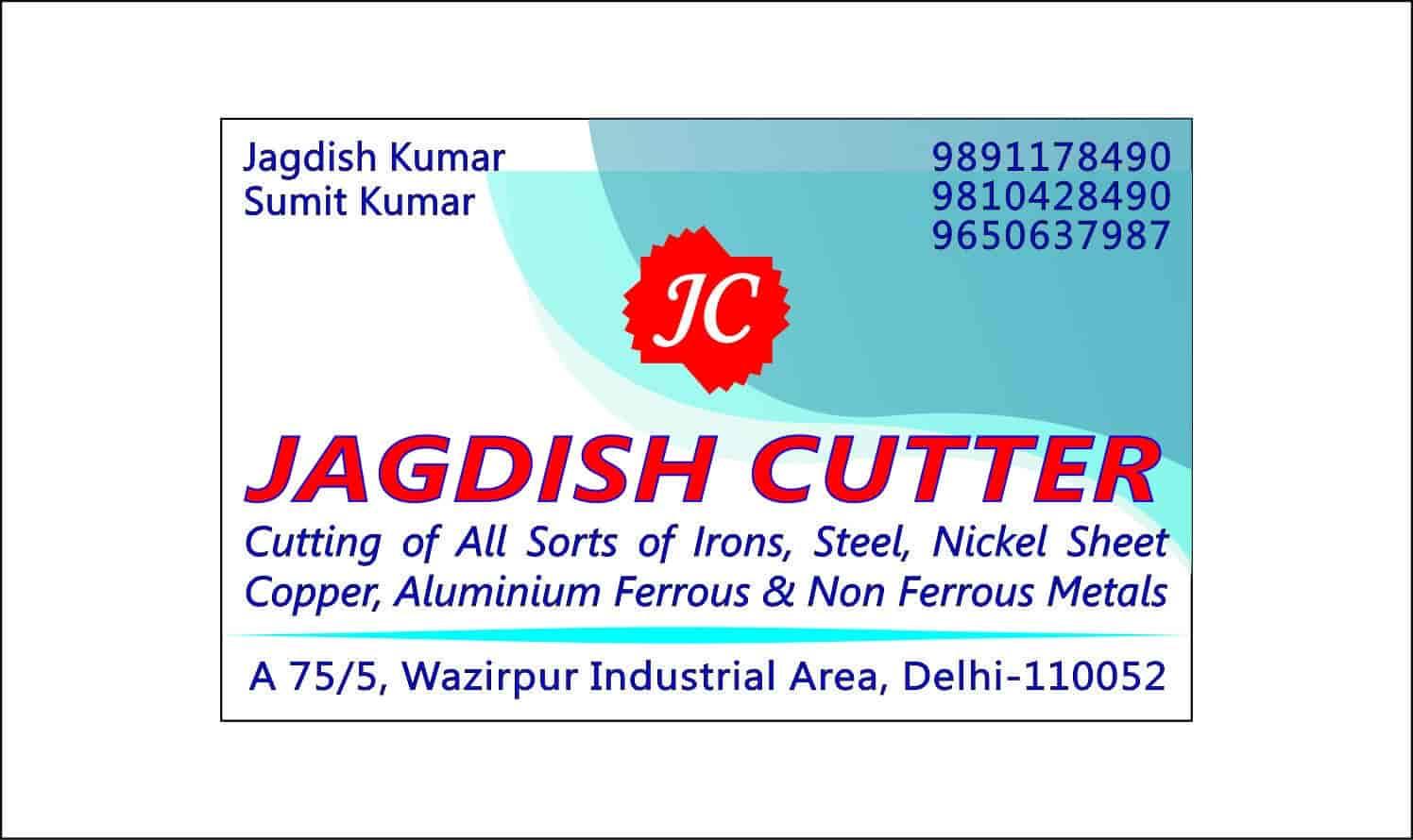 Jagdish Cutter, Wazirpur - Stainless Steel Laser Cutting