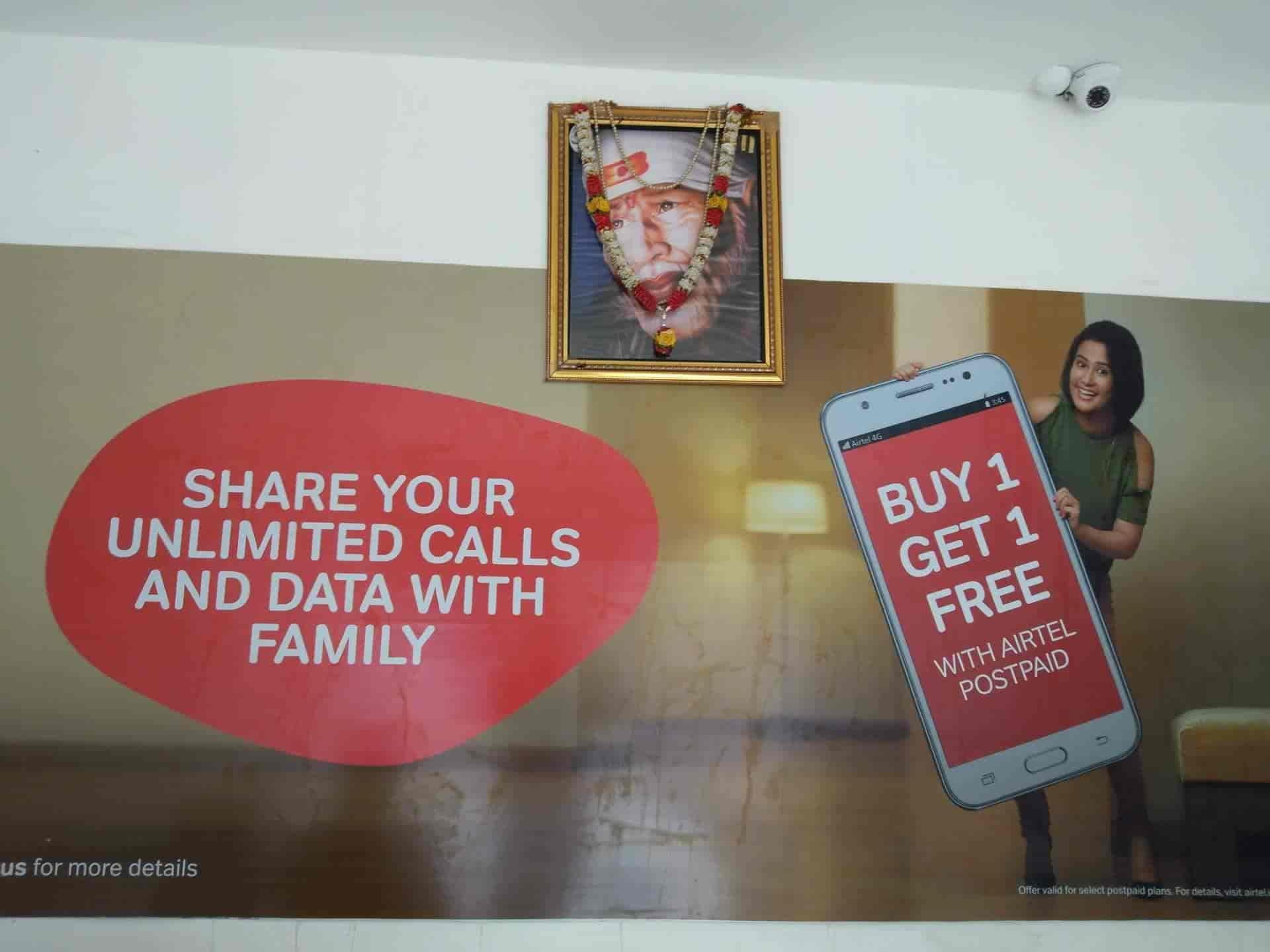 Airtel Store, Near Pooja Milk Point - Internet Service