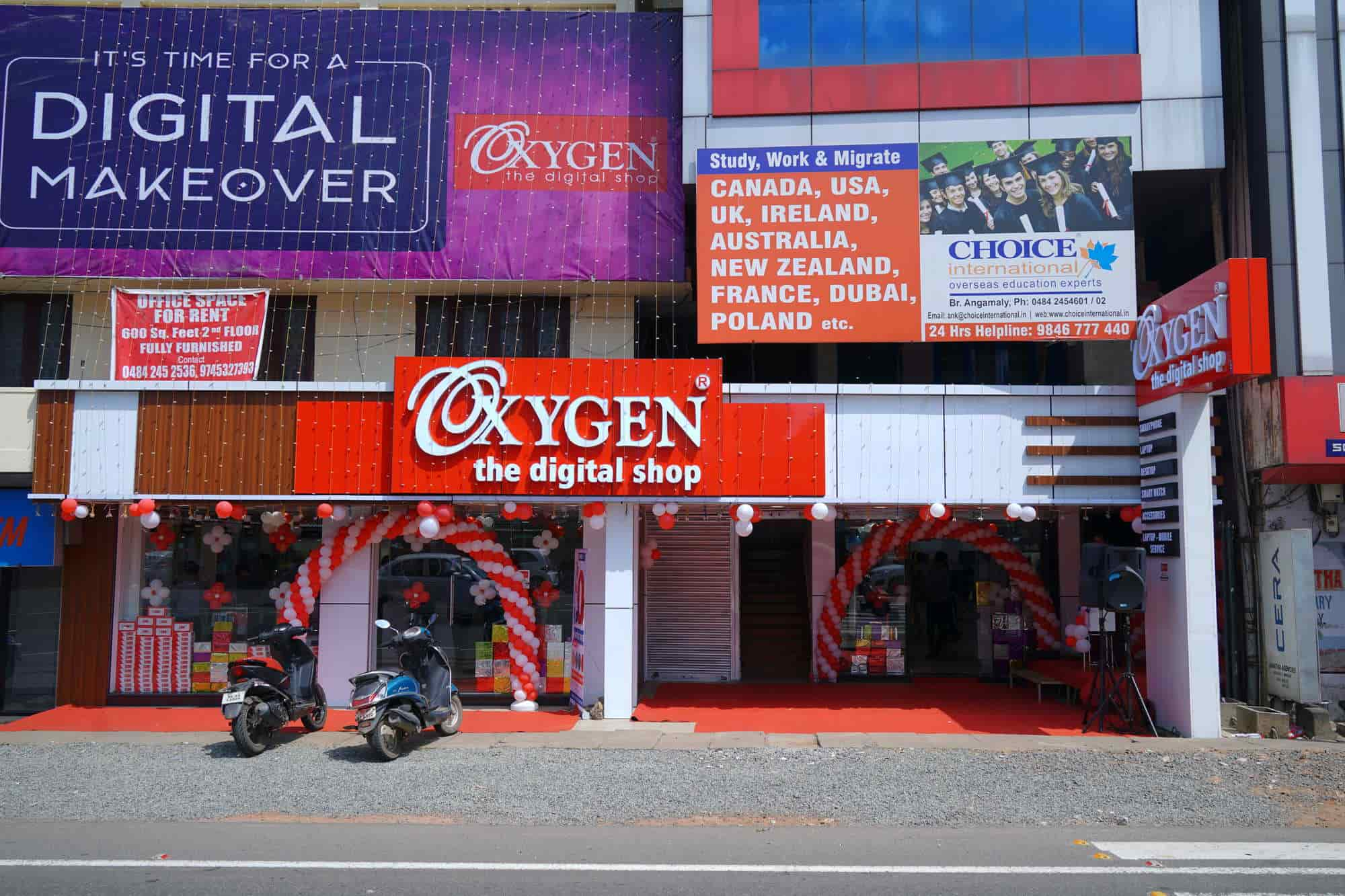 Oxygen The Digital Shop, Angamaly - Mobile Phone Dealers in