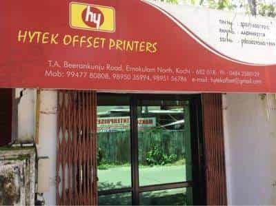 Hytek Offset Printers, Ernakulam North - Printing Press in