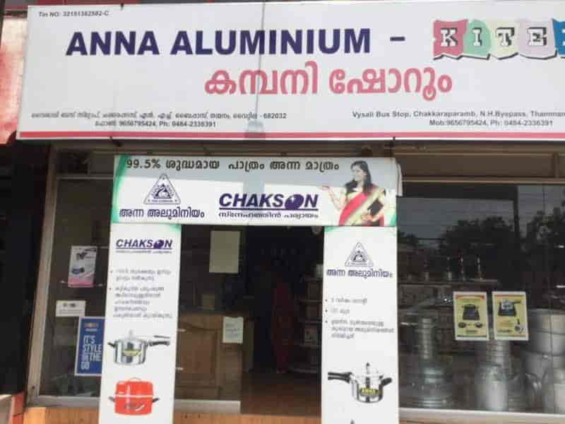 Anna Aluminium Vessels, Thammanam - Induction Cooker Dealers