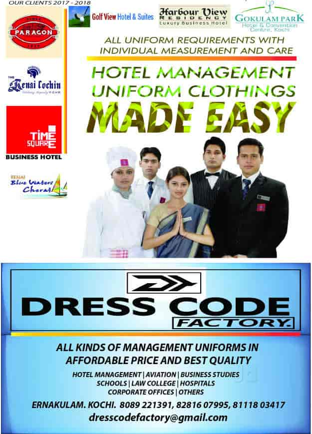 Dress Code Factory, Kacherippady - Boutiques in Ernakulam