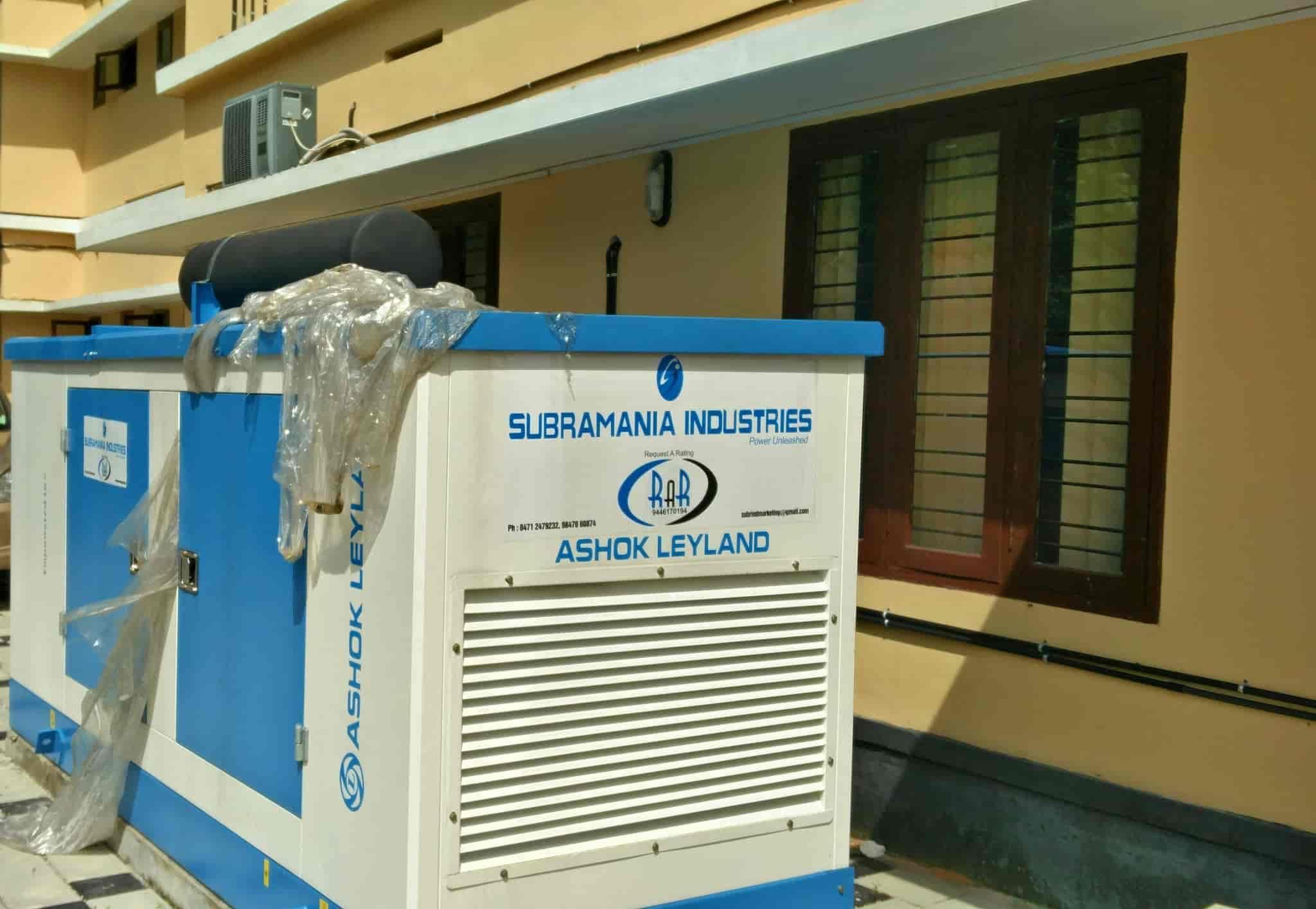 Top Diesel Generator Dealers Sterling Wilson in Kerala Best