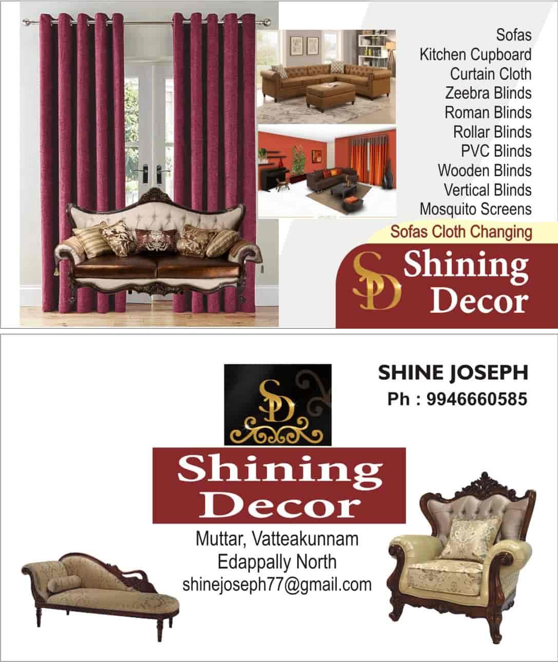 Shining Decor Edapally North Interior Designers In Ernakulam