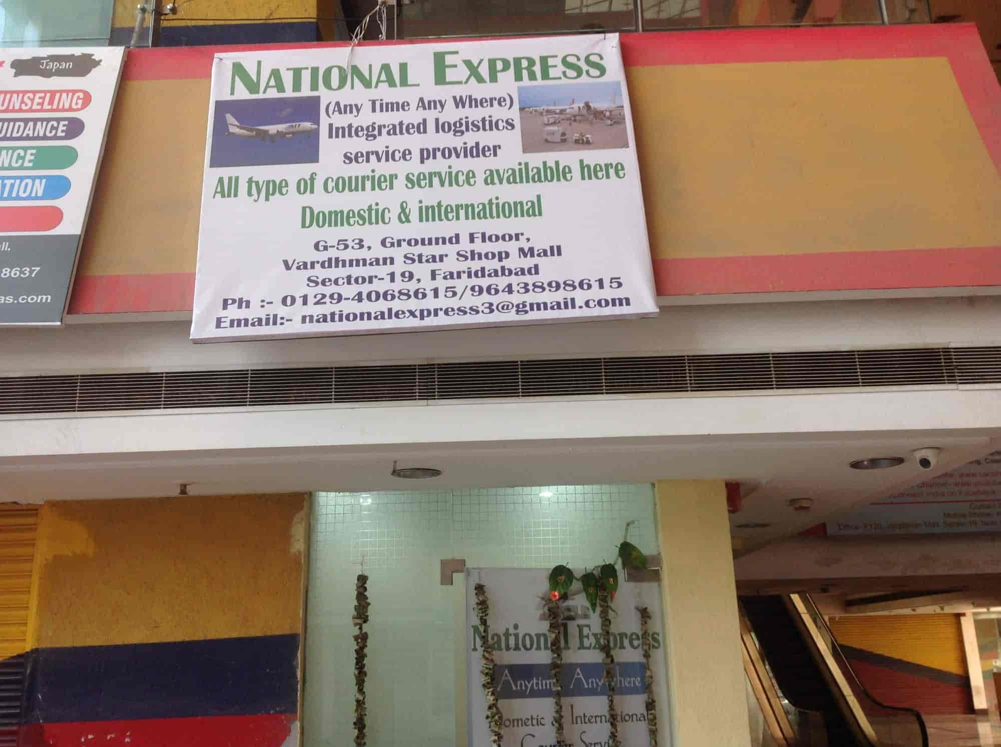 National Express, NIT - International Courier Services in