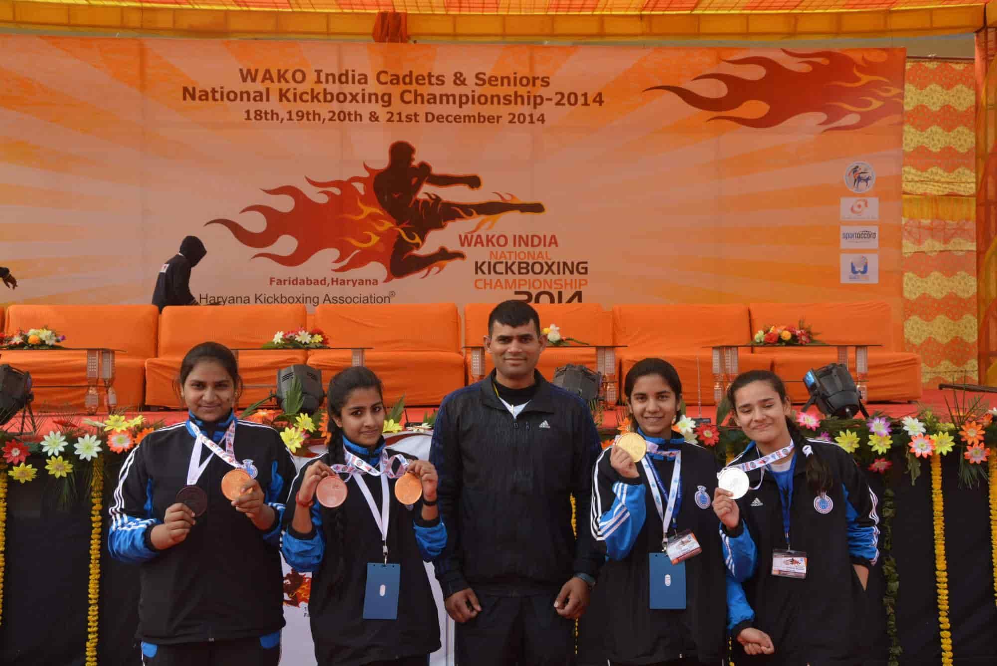 Modern Martial Arts Kickboxing Class Faridabad Haryana