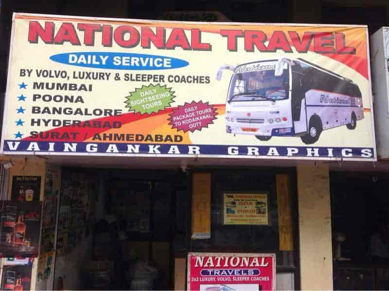 National Travels Services Panjim Bus Services In Goa Justdial