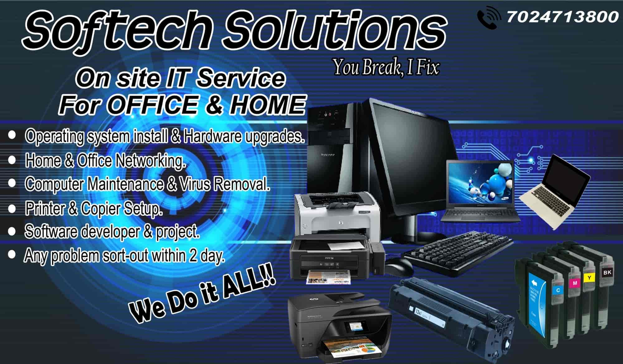 Softech solutions photos thatipur gwalior pictures images visiting card softech solutions photos thatipur gwalior computer repair services reheart Gallery