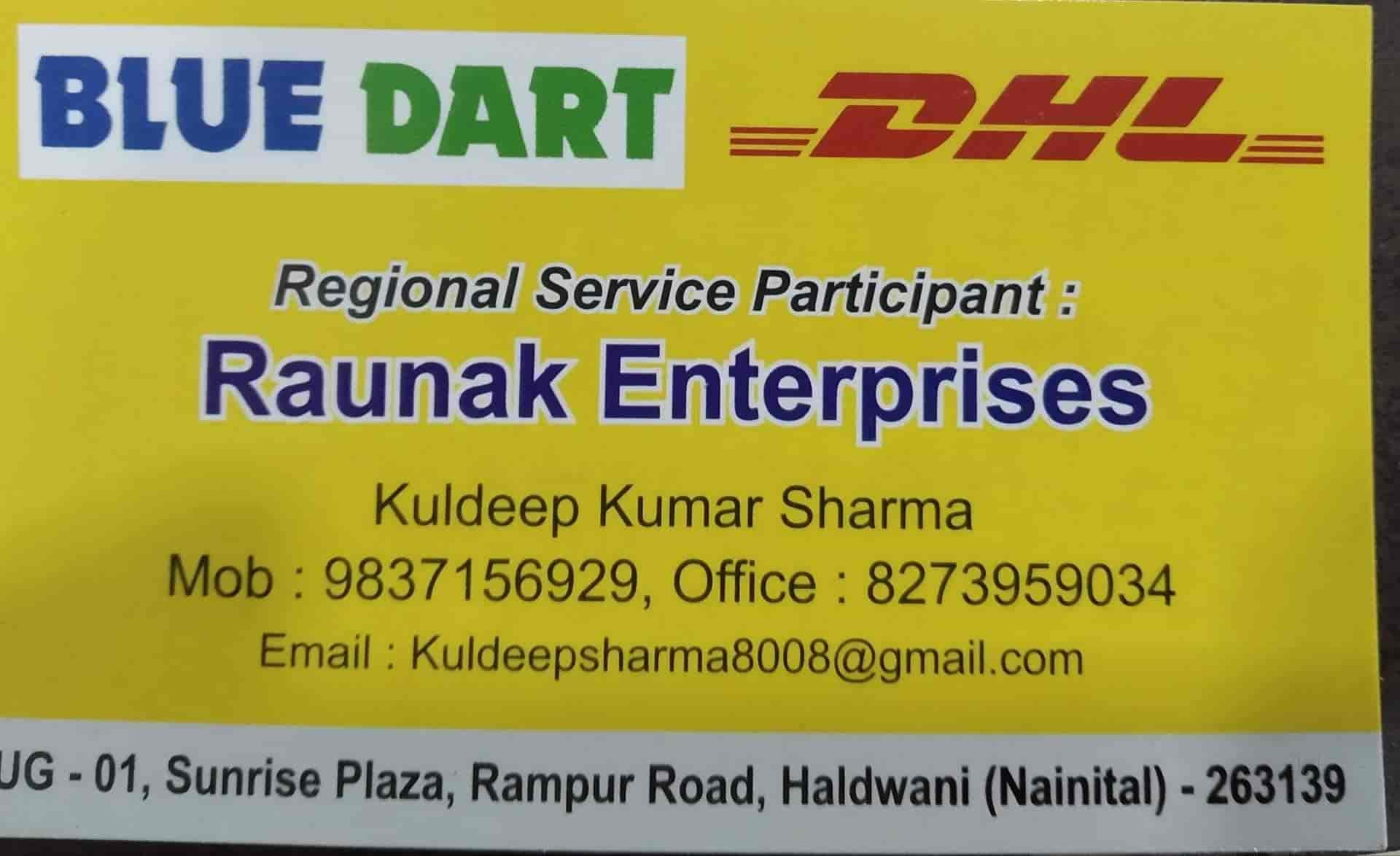 Blue Dart Express, Haldwani Ho - Domestic & international