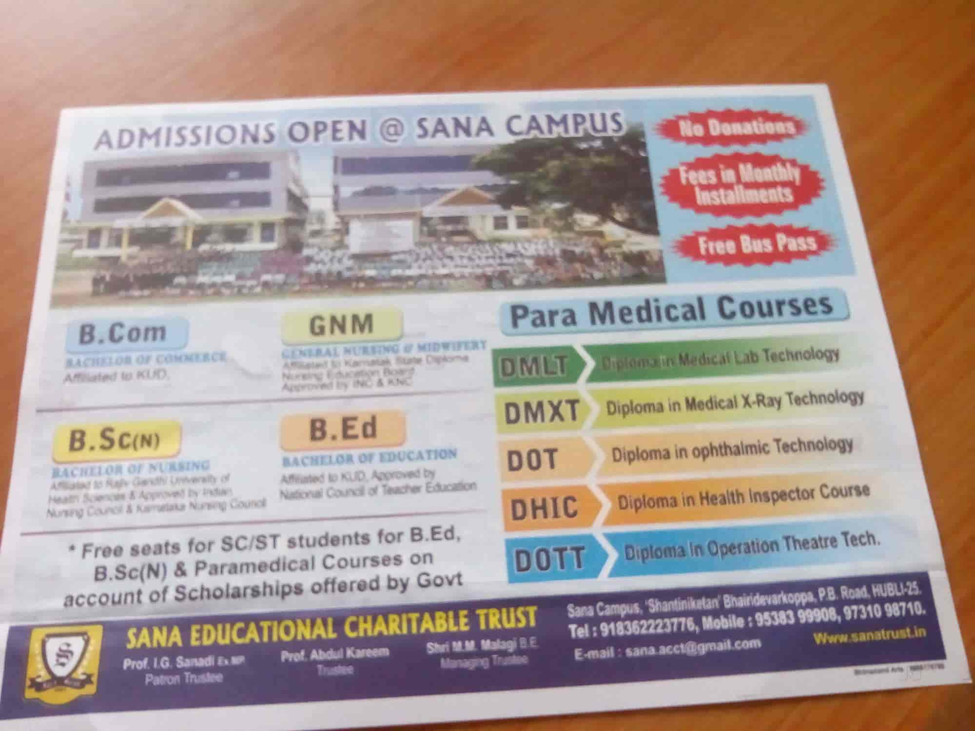Sana Educational Charitable Trust-Sana College