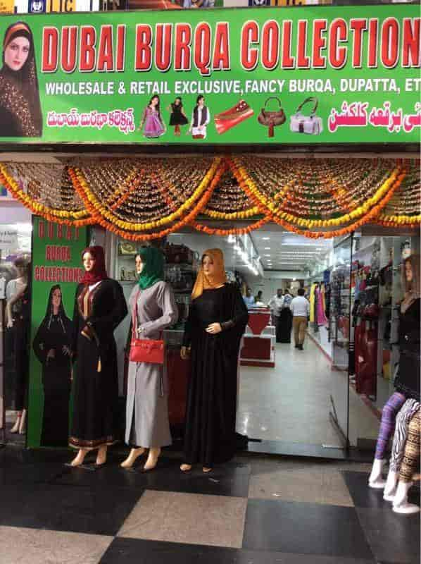 Dubai Burqa Collection Photos Abids Hyderabad Pictures Images