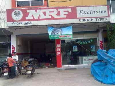 Unnathi Tyres, Uppal - Car Tyre Tube Dealers-MRF in