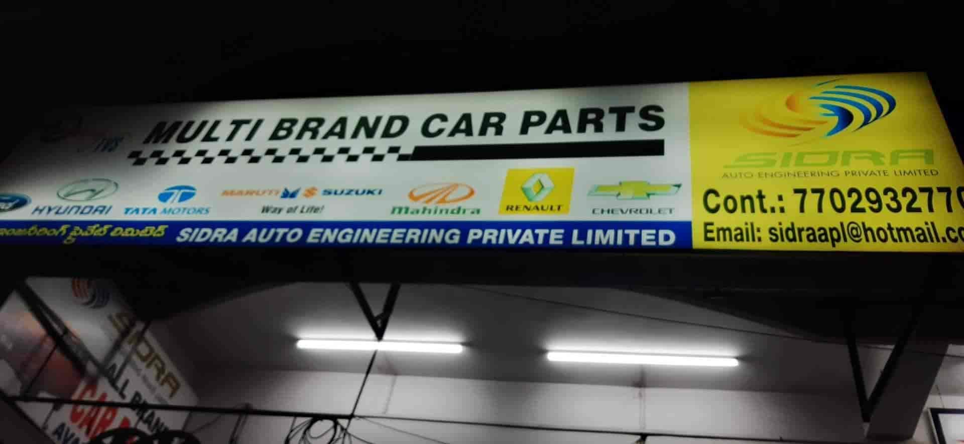 Sidra Auto Engineering Pvt Ltd, Toli Chowki - Car Part
