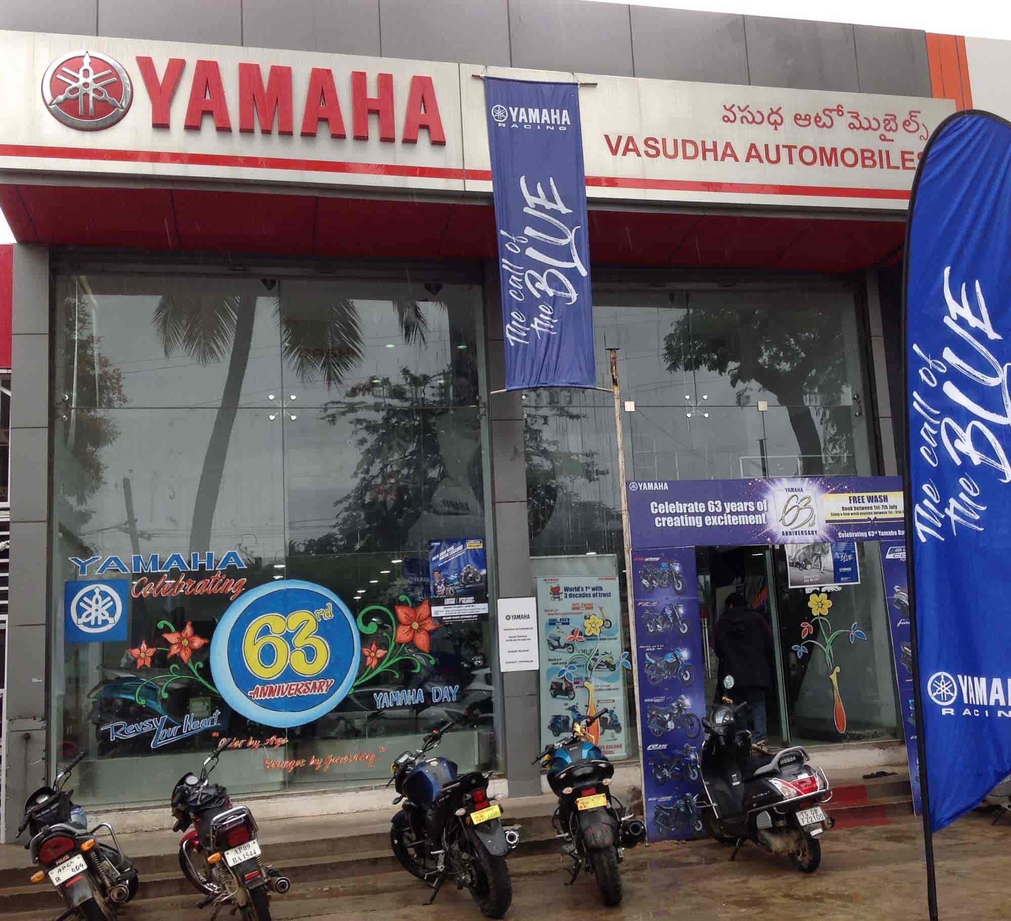 Vasudha Yamaha, Sainikpuri - Motorcycle Dealers-Yamaha R15