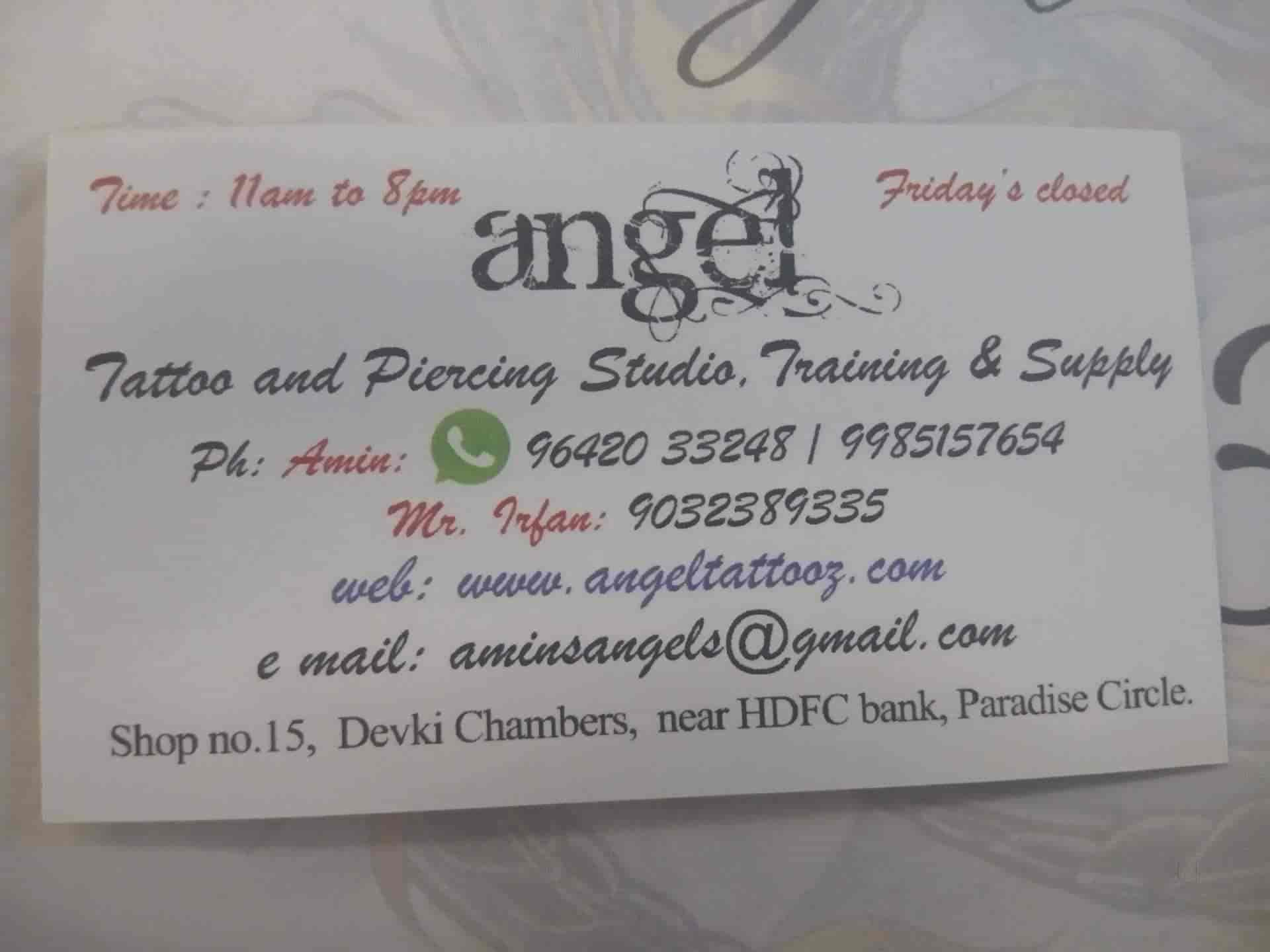Angel Tattoo And Piercing Studio Training Supply Photos