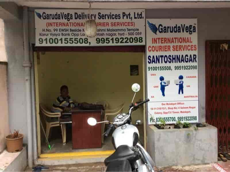 Garudavega International Courier Services, Santosh Nagar