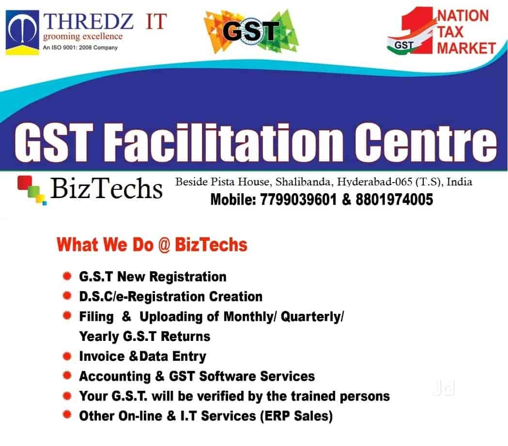 Biztechs, Shah Ali Banda - GST Return Filing Services in