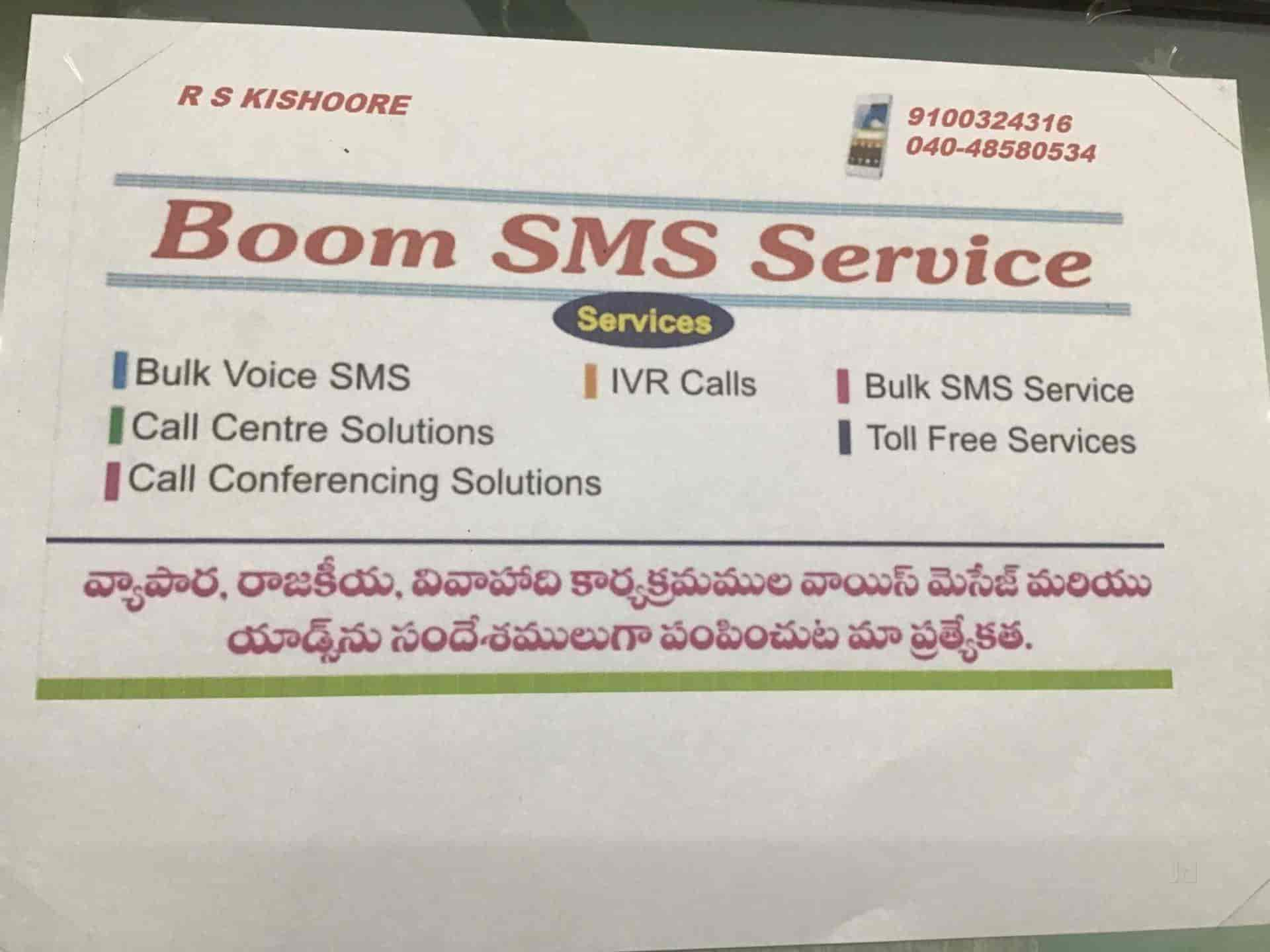 Boom Sms Services, New Bowenpally - Bulk SMS Services in