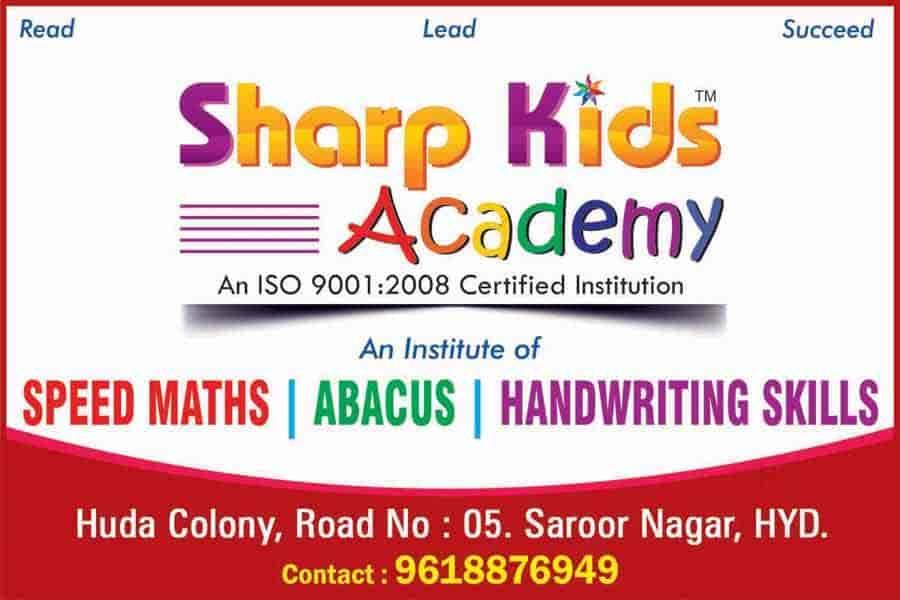 Sharp Kids Academy & Institute Of Abacus Speed Maths, Kothapet ...