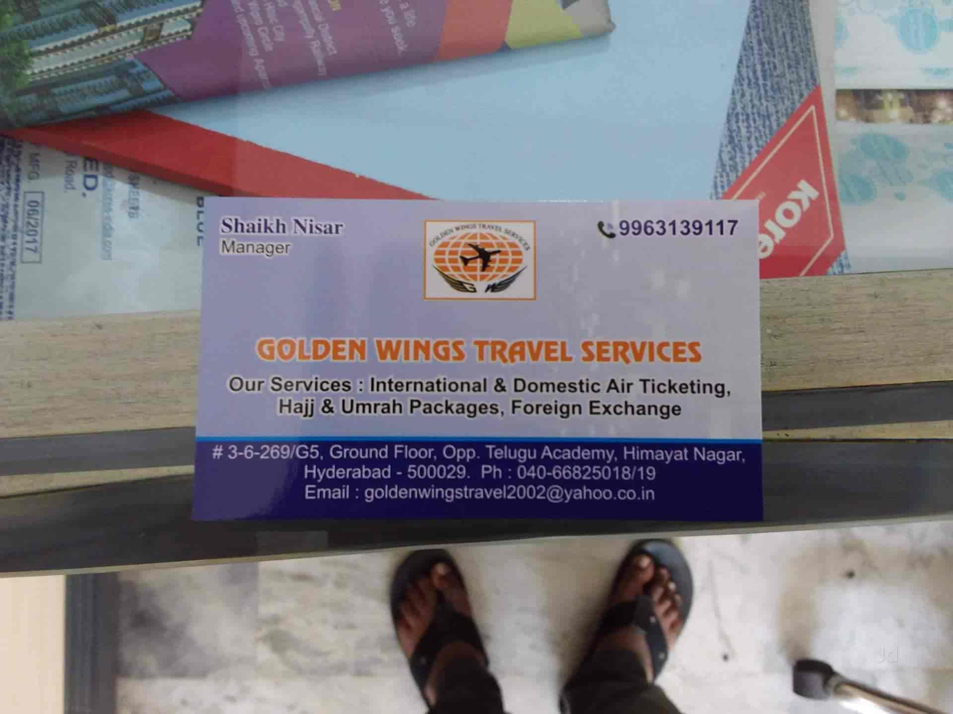 Golden Wings Travel Services