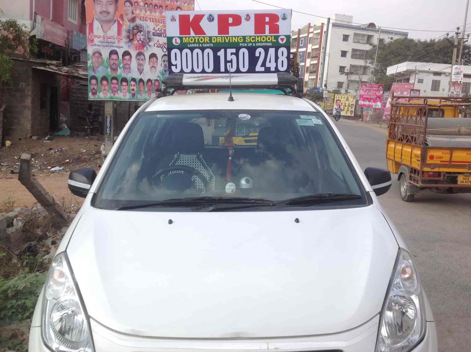 K P R Motor Driving School Beeramguda Motor Training Schools In