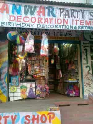 Anwar Party Shop Decoration Items Photos Kishanbagh Hyderabad