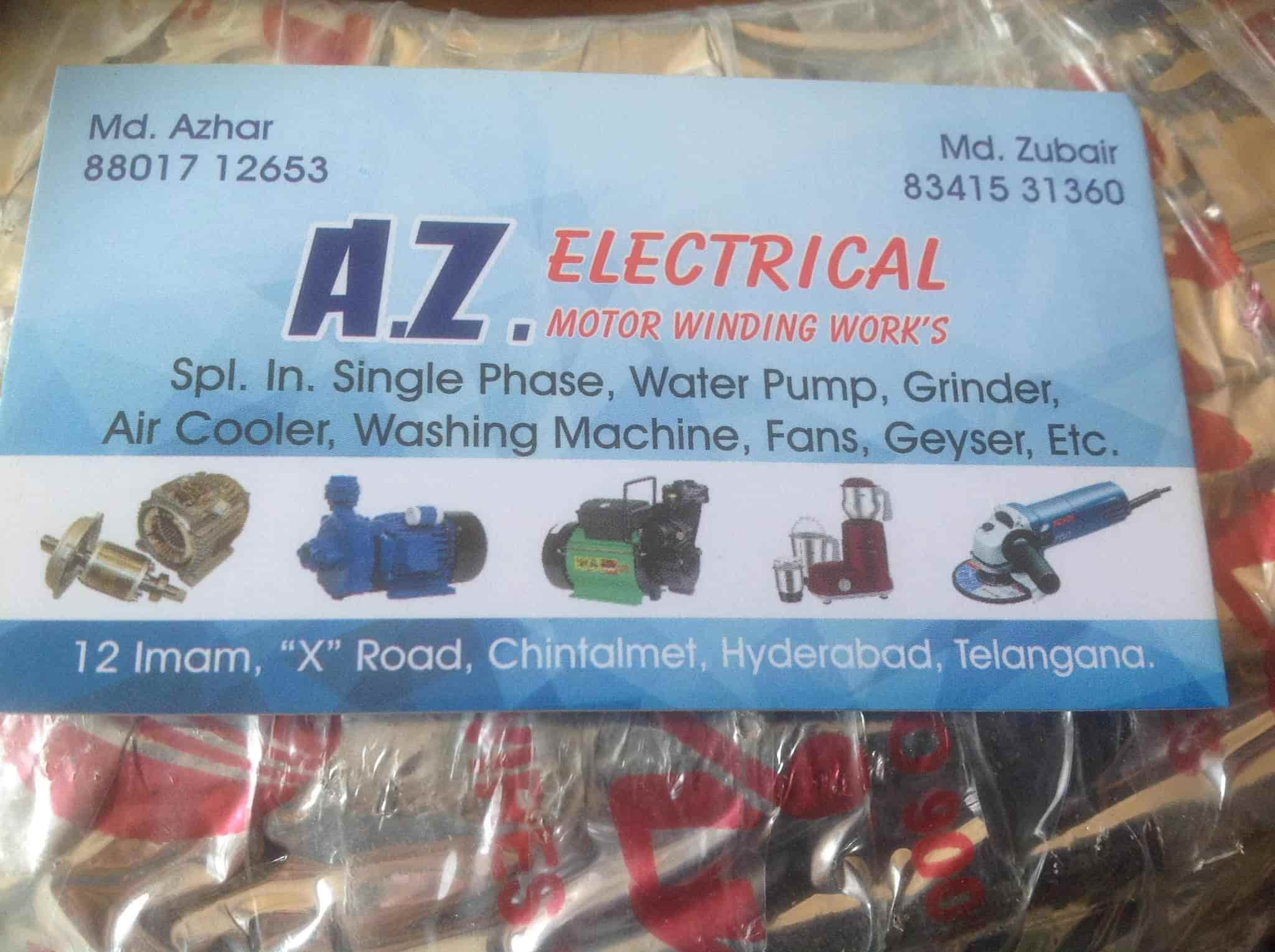 A Z Electrical Motor Winding Works Photos, Chintalmet Attapur ...