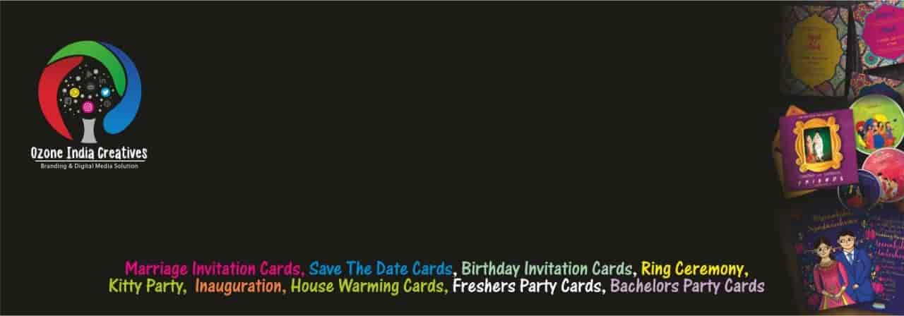 Top E Invitation Card Makers In Indore Best Digital