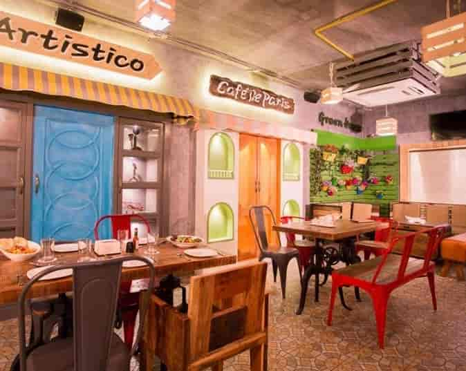 o2 cafe de la ville new palasia indore coffee shops fast food cuisine restaurant justdial