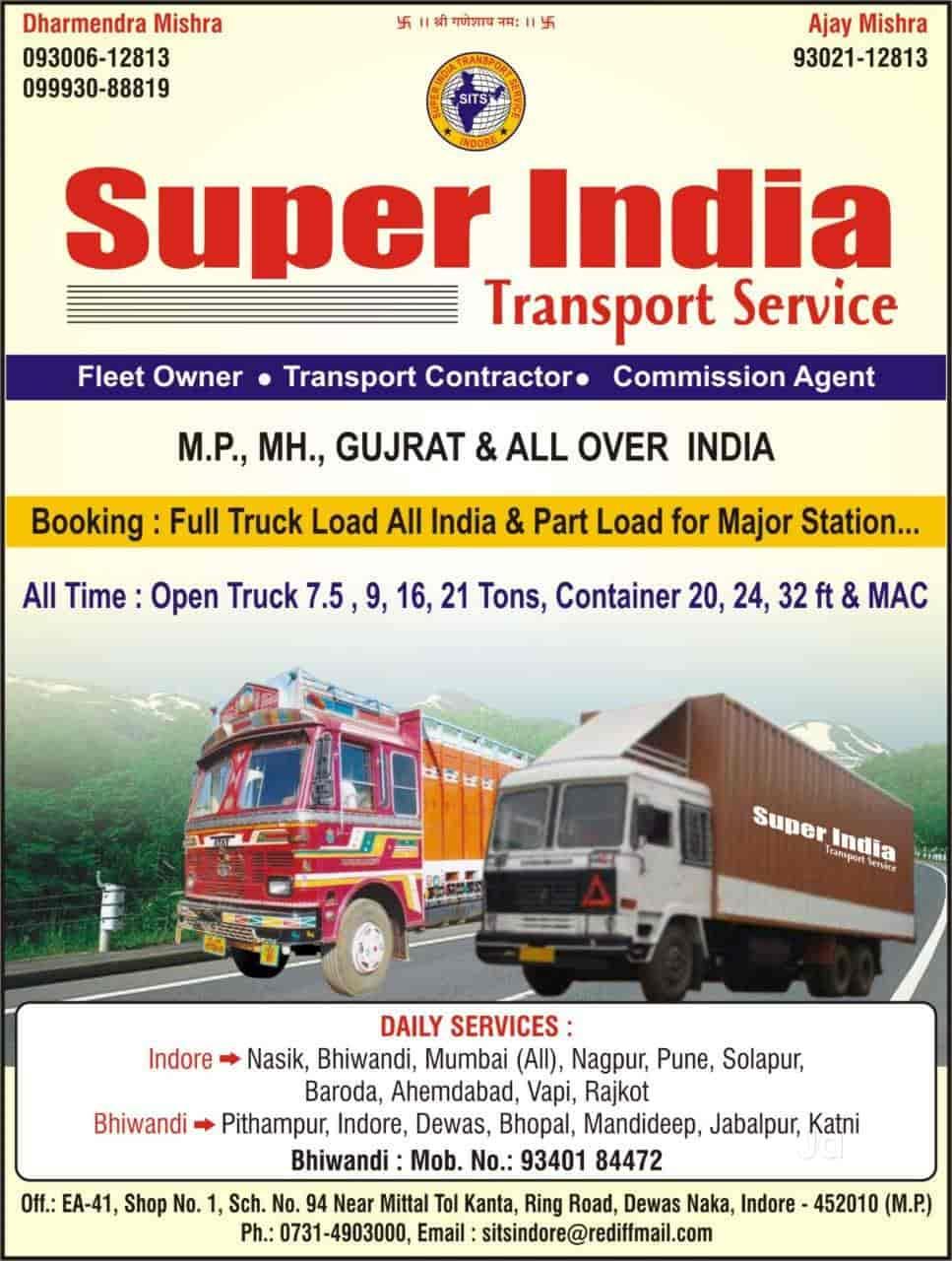 Super India Transport Service, Dewas Naka Indore