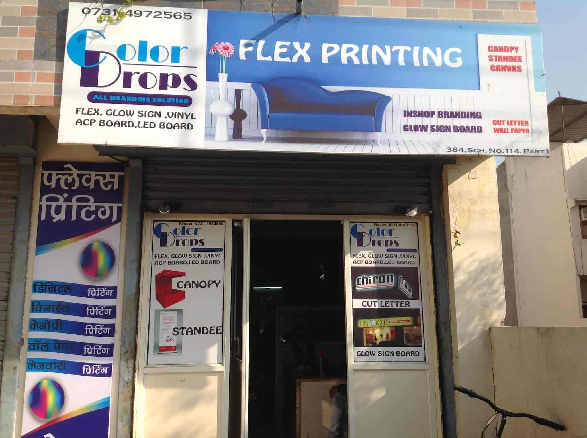 Color Drops Printing Solutions, Vijay Nagar - Flex Printing