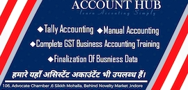 Top 100 Accountants in Indore - Best Accounting Services