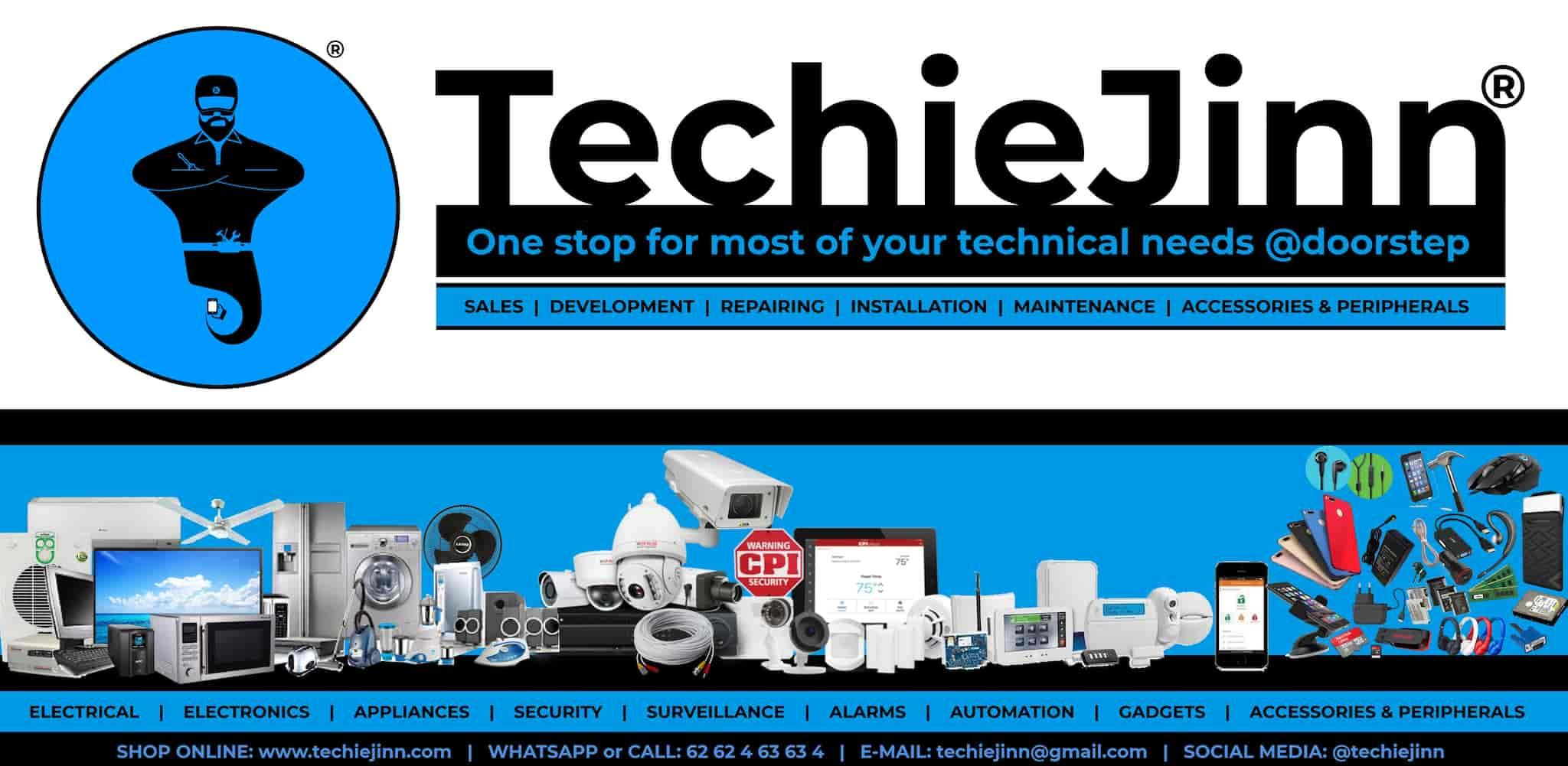 TechieJinn, Janjeerwala Square - Internet Service Providers