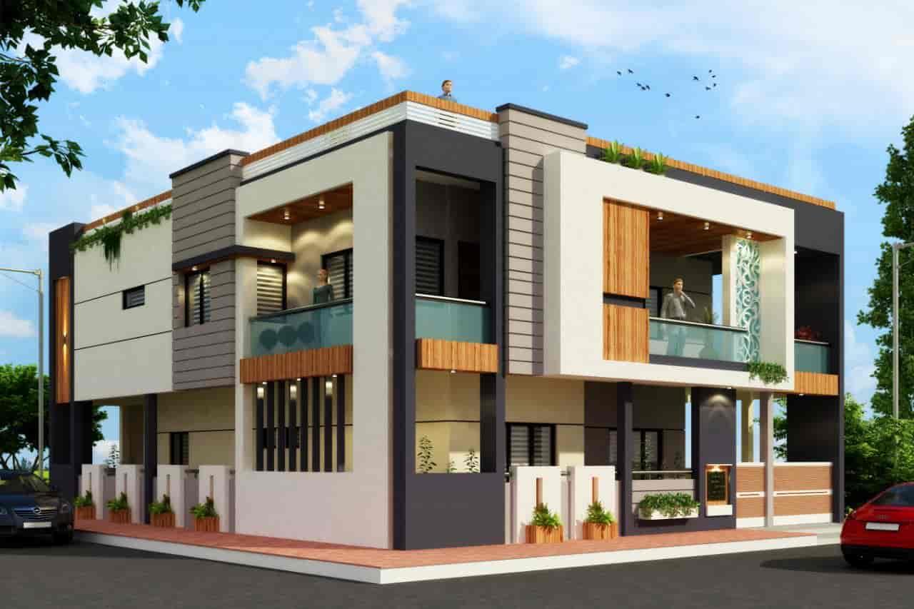 Building Architectural Design Works   Hemant Jain U0026 Associates Photos, Usha  Nagar Extension, Indore ...