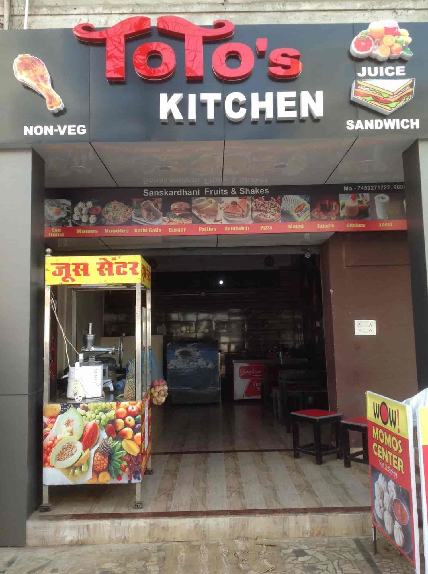 Toto\'s Kitchen, Wright Town, Jabalpur - Restaurants - Justdial