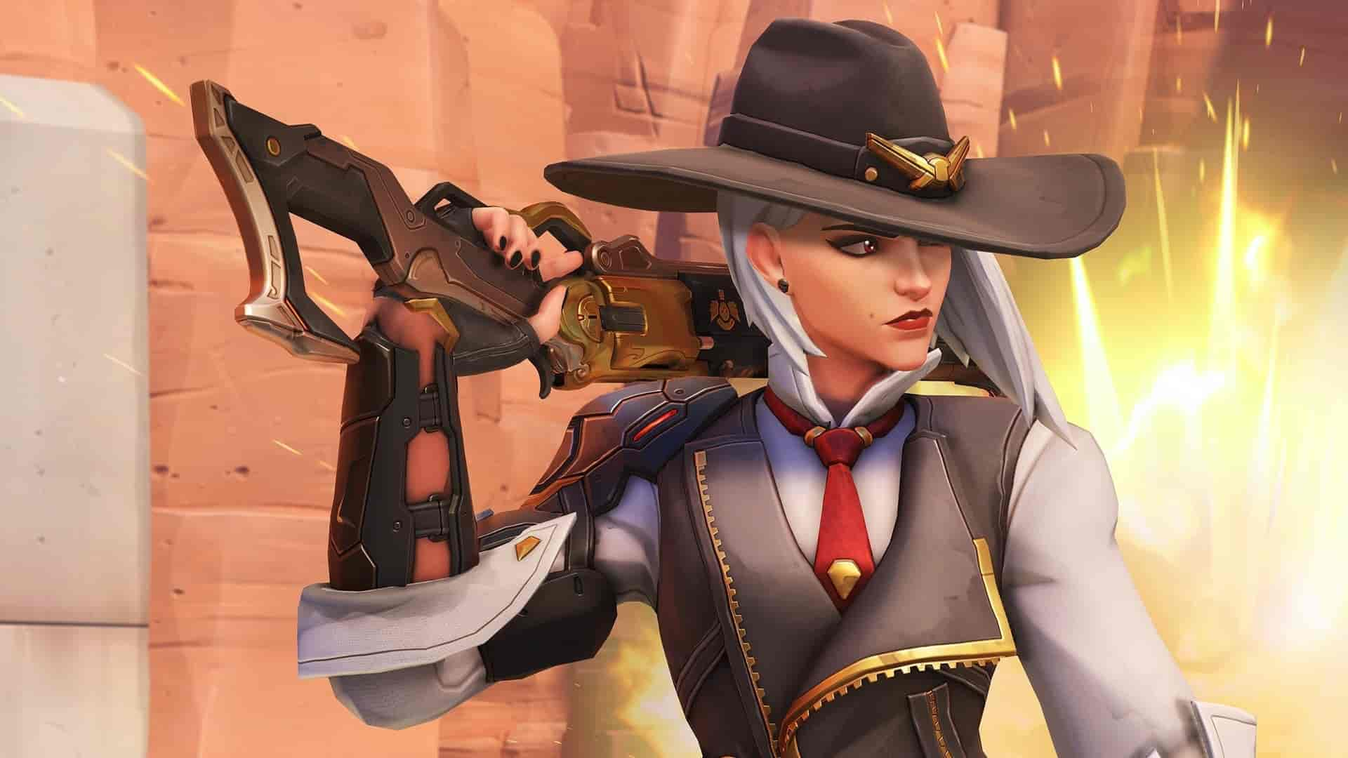 New Overwatch hero Ashe playable on Public Test Region now