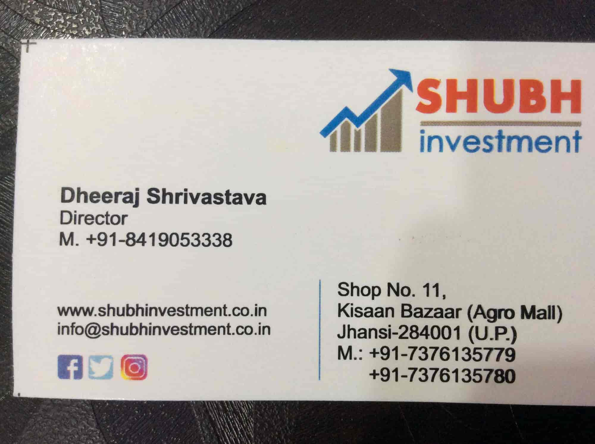 Shubh investment companies wtfsc aggressive growth investments