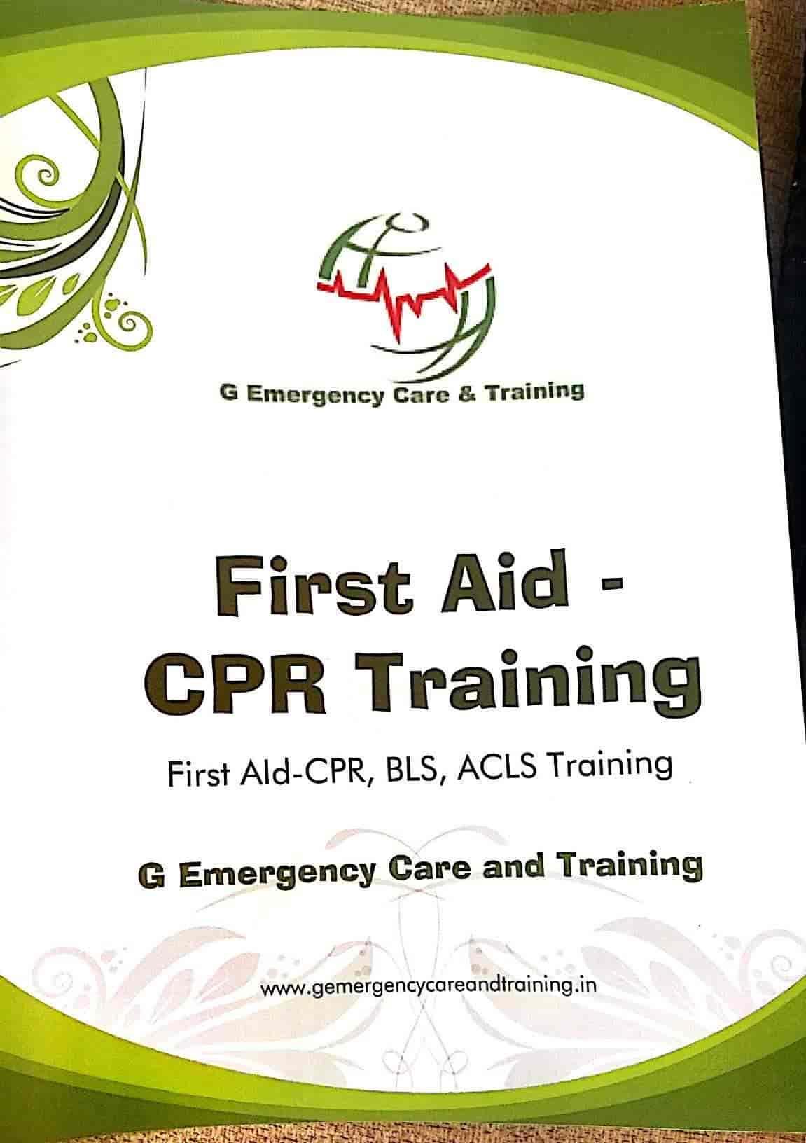 G Emergency First Aid Cpr Training Center Photos Paota Jodhpur