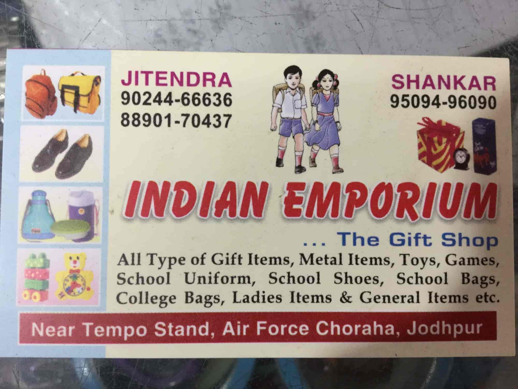 Indian Emporium, Air Force Area - Gift Shops in Jodhpur