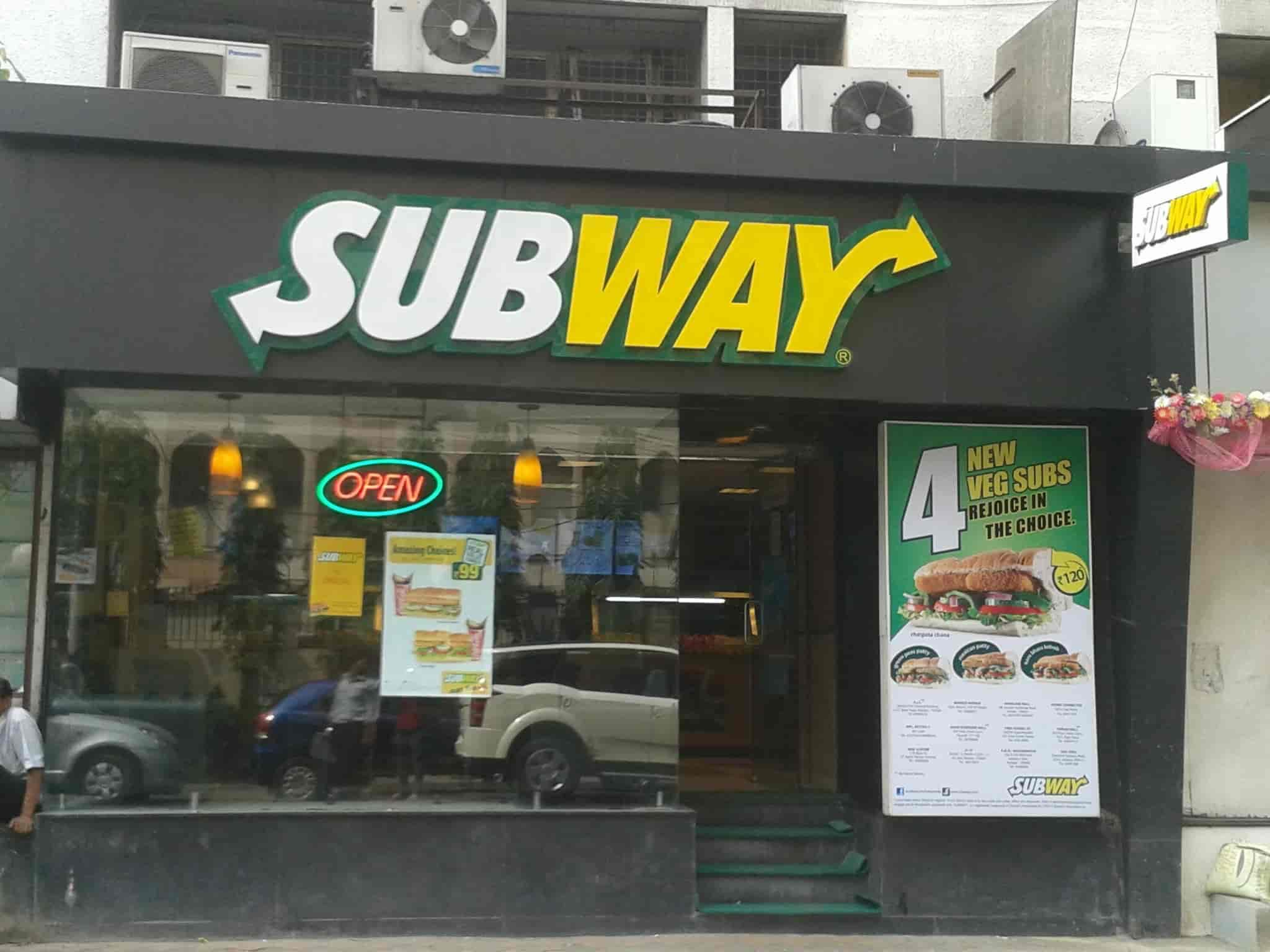 Find list of Subway near Minto Park-Lala Lajpat Rai Sarani - Subway Restaurants Kolkata - Justdial