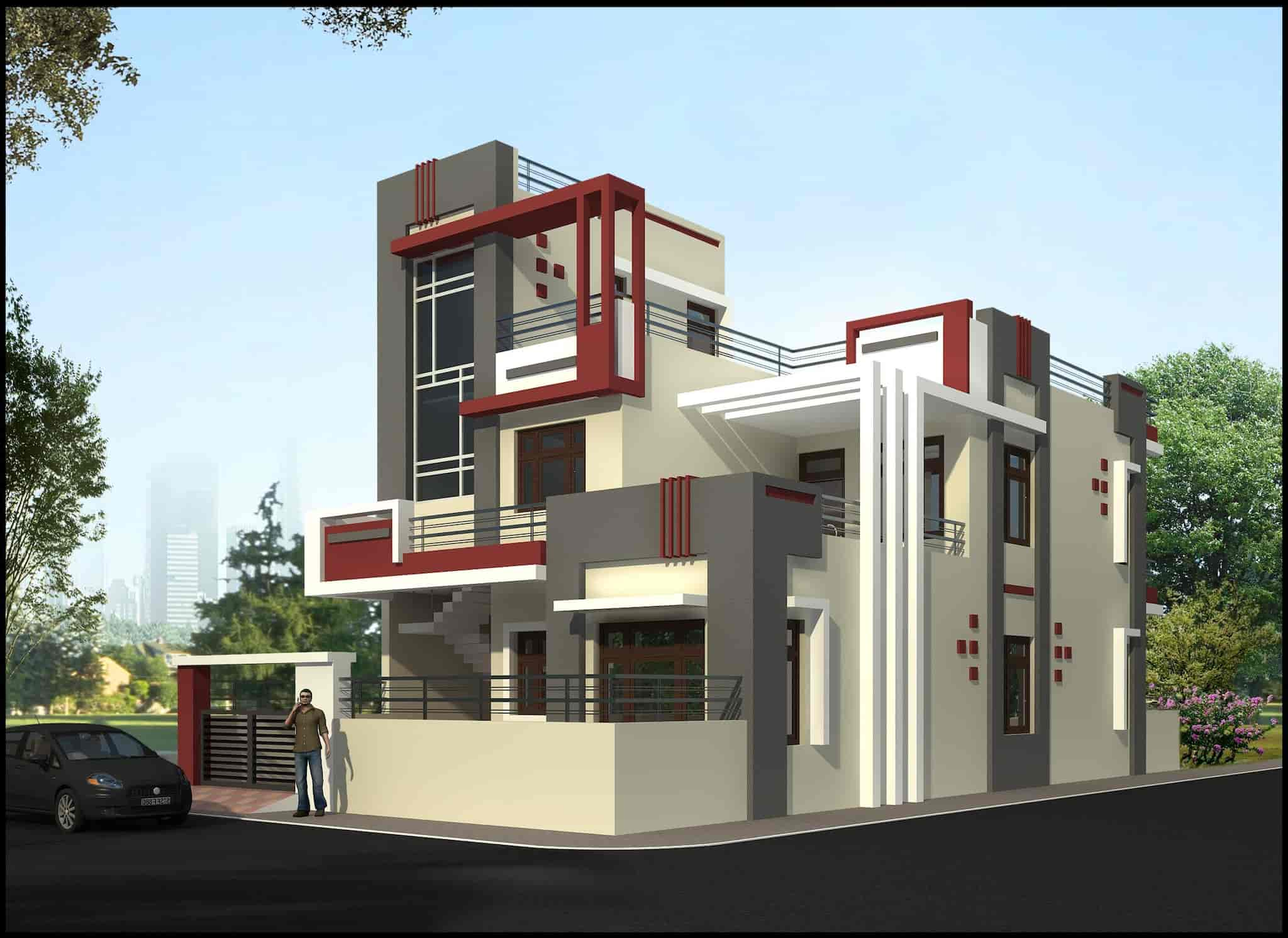 Groovy Modern House Designer Kurukshetra H O Architects In Download Free Architecture Designs Intelgarnamadebymaigaardcom