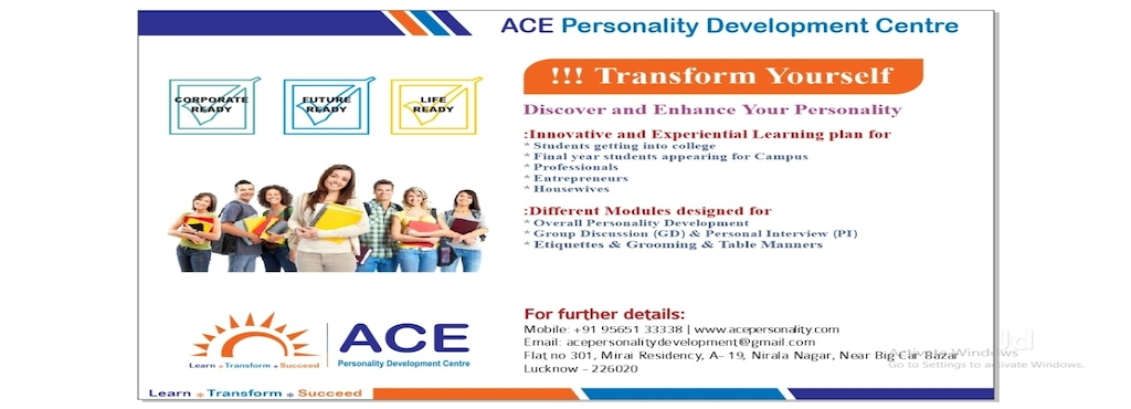 Ace Personality Development Centre, Nirala Nagar - Institutes For ...