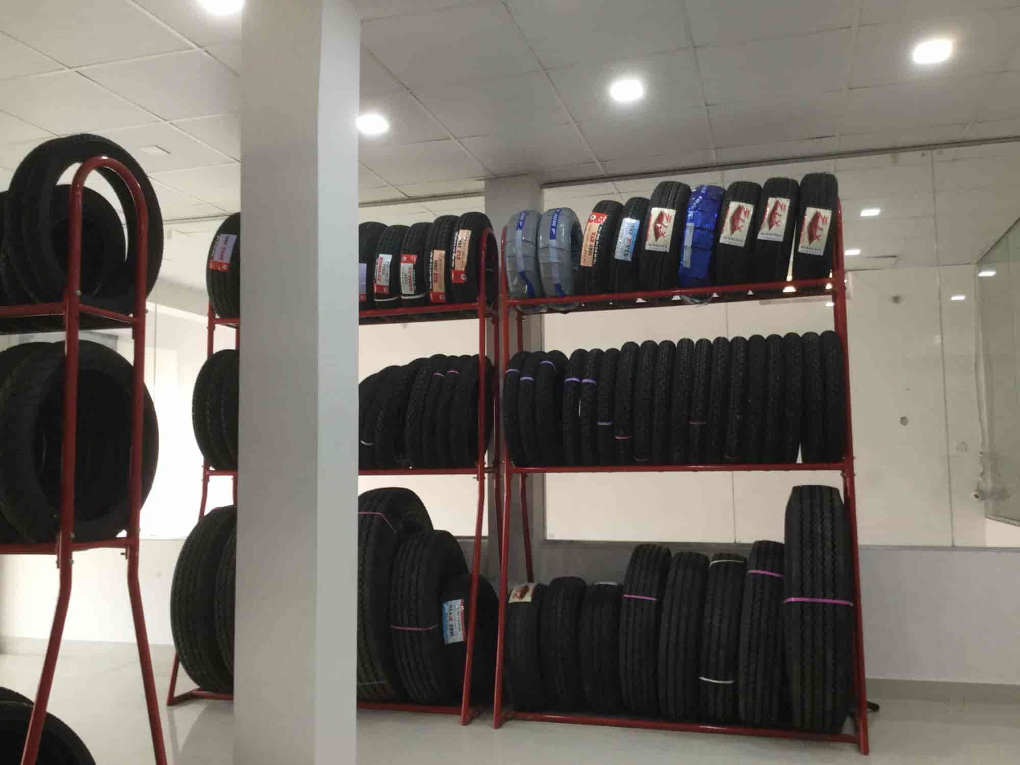 Fine Tyre Station, Jankipuram - Tyre Dealers-MRF in Lucknow